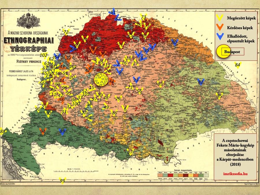 A Karpat Medence Czestochowai Fekete Maria Masolatai Imrik